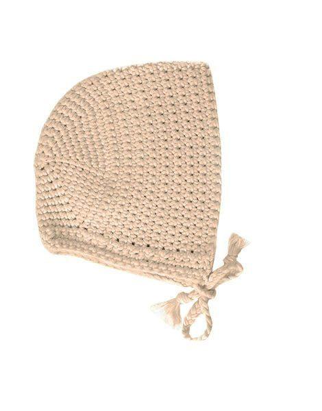 Béguin rond crochet mastic
