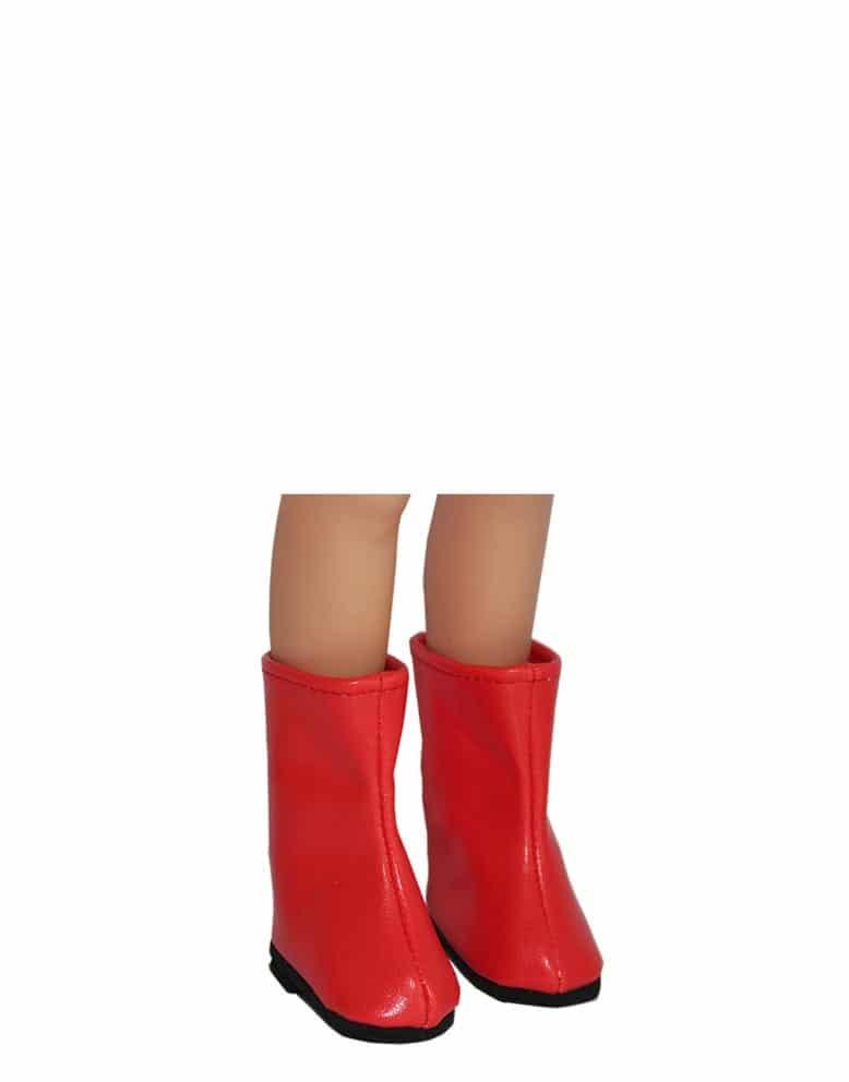 Bottes Rouges Botte Haute Femme Cuir Nomadashostel