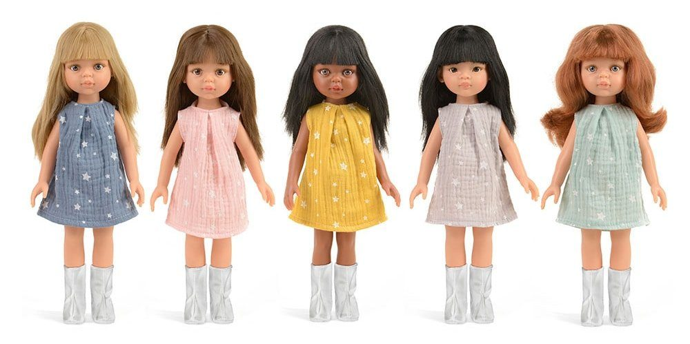 """Les poupées Paola Reina """"Las Amigas"""" sur le site de Minikane"""