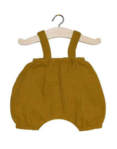 Bloomer Kim en coton double gaze camel