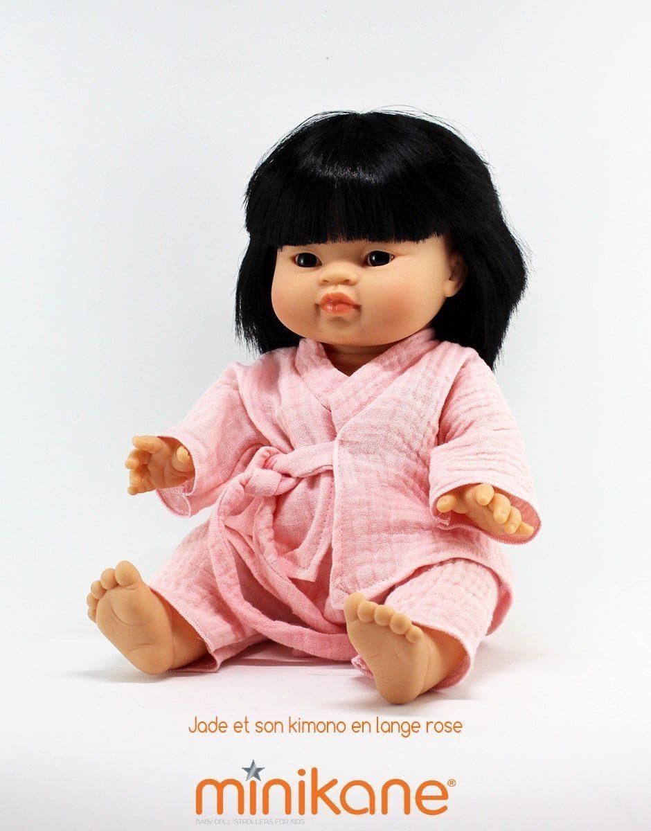 Jade, poupée asiatique et son Kimono vendue par Minikane®