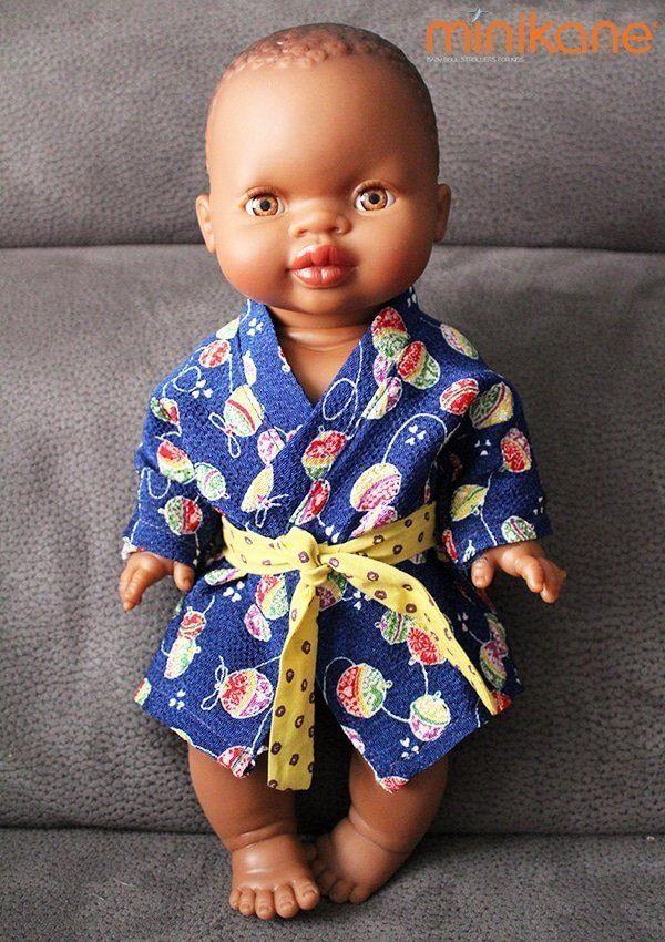 poupee africaine habillee par minikane