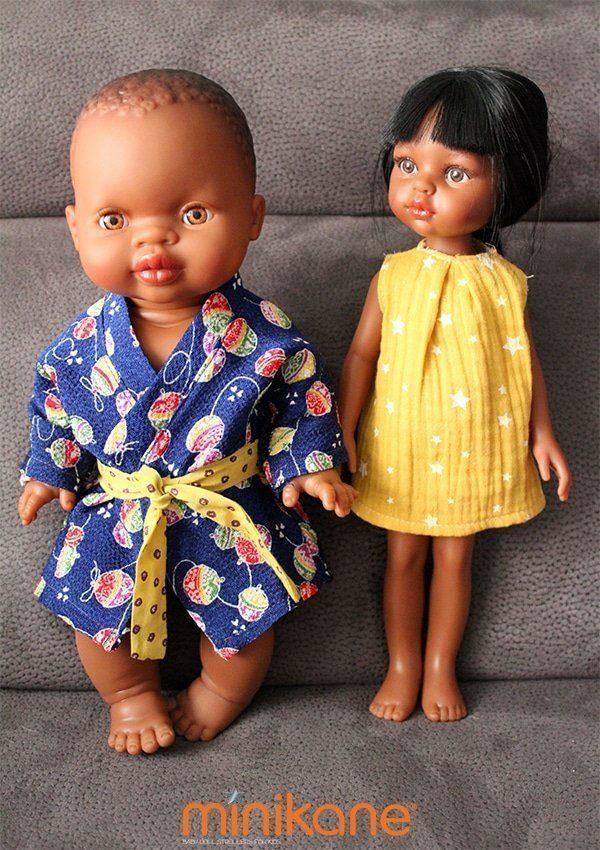 poupees africaines habillees par minikane