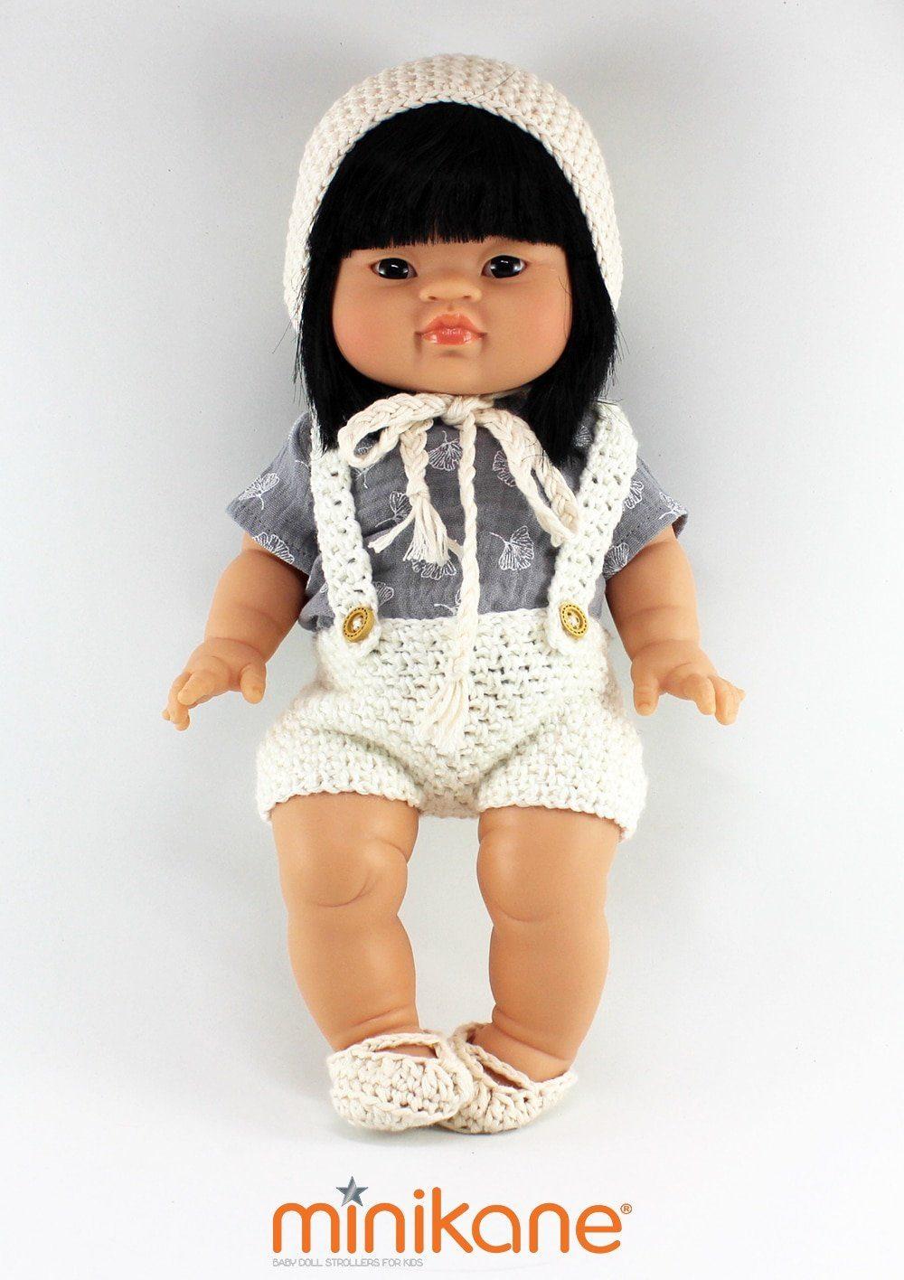 poupee asiatique Jade habillee par minikane
