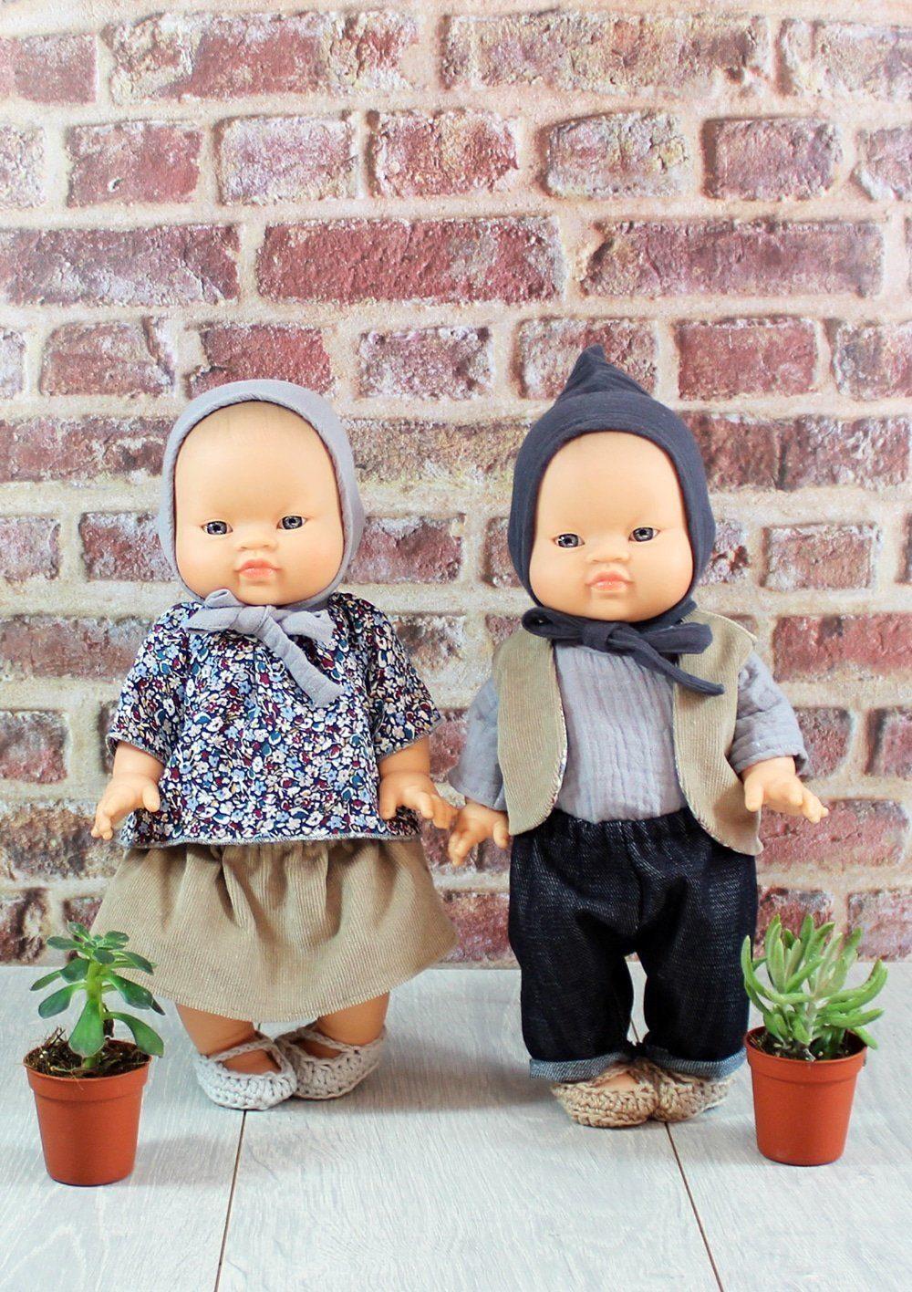 Poupées asiatiques habillées par Minikane