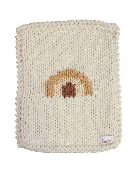 couverture pouppes en laine