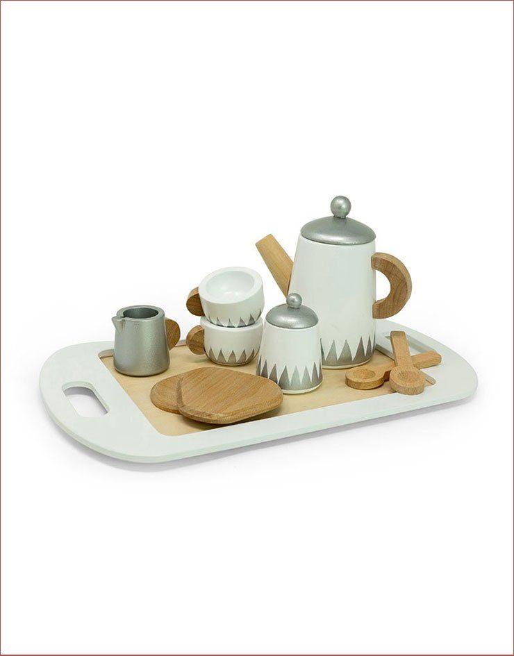 Service à thé en bois Astrup
