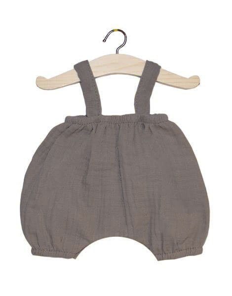Bloomer Kim en coton double gaze taupe