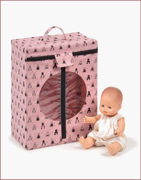 Armoire vintage Babies rose poudré
