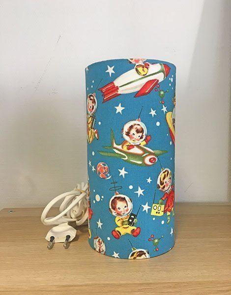 *Lampe veilleuse pour chambre d'enfant Petit modèle – Motif Cosmo