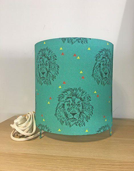 *Lampe de chevet pour enfant Grand modèle – Motif Wild