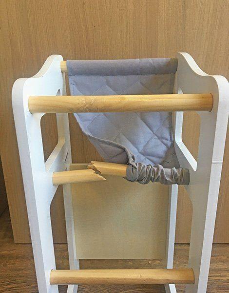 *Chaise haute en bois 2en1 Astrup®