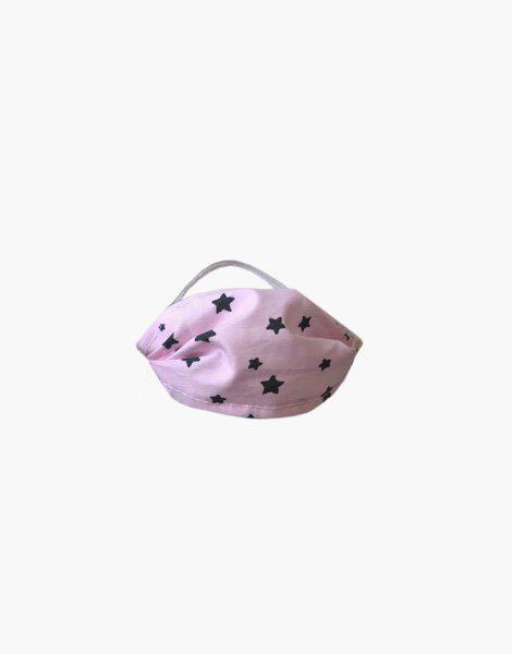 Mini masque poupée pink star