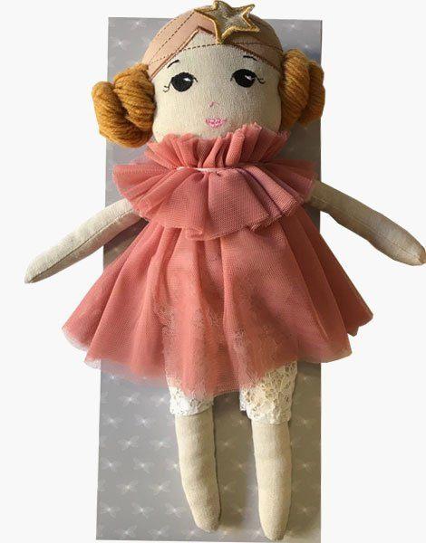 *Poupée Chiffon Estelle 37cm, et ses 2 différentes tenues (ByAstrup)