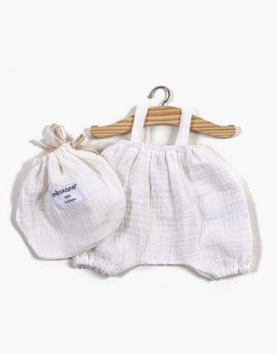 .Bloomer Kim en coton double gaze blanc