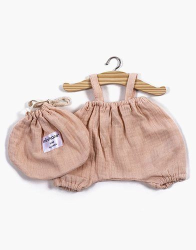.Bloomer Kim en coton double gaze Rose Tendre