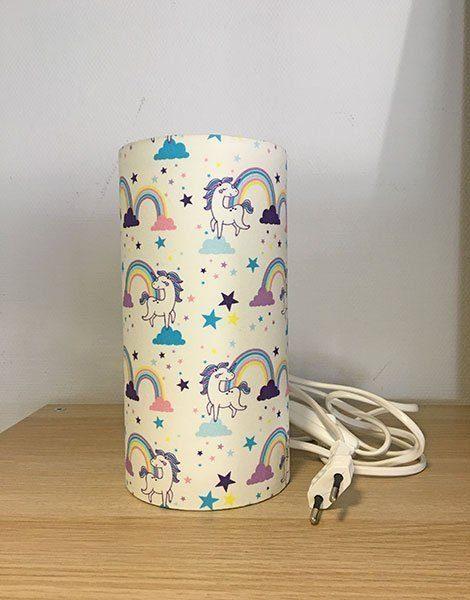 *Lampe veilleuse pour chambre d'enfant Petit modèle – Motif Licorne