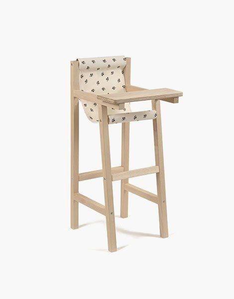Chaise haute Capucine écru