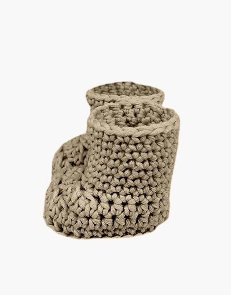Bottes en crochet mastic