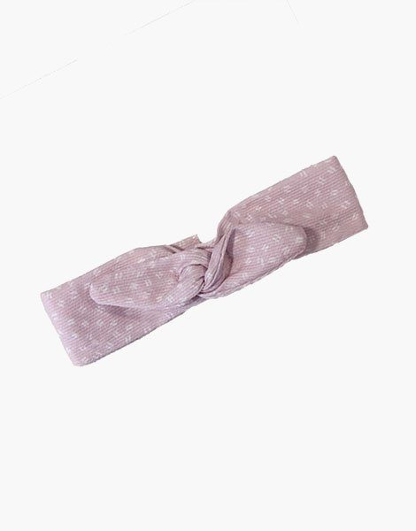 Headband rose tendre fantaisie