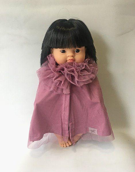 *Cape de princesse poupée prune