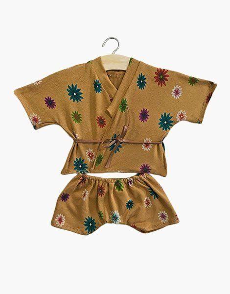 "Kimono ""Flowers island"""