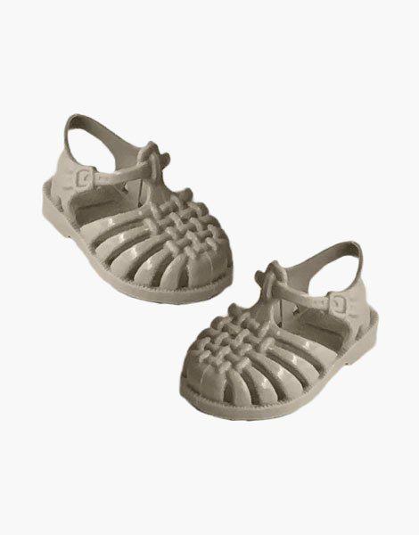 """Sandales de plage """"Sun"""" pour poupée Gordis Sable"""