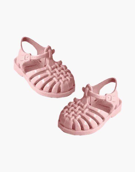 """Sandales de plage """"Sun"""" pour poupée Gordis Rose pastel"""