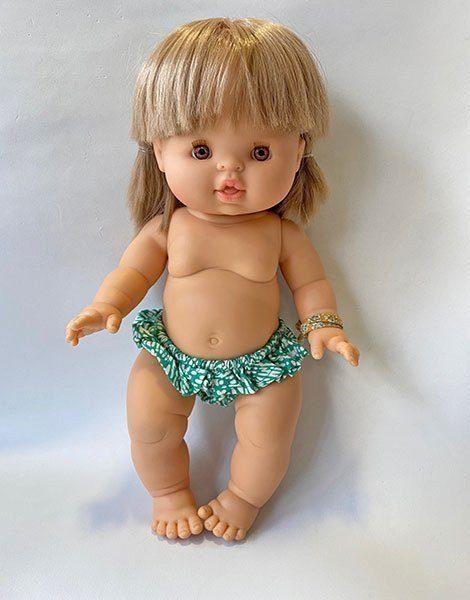 *Bikini Vita Sawah vert en coton