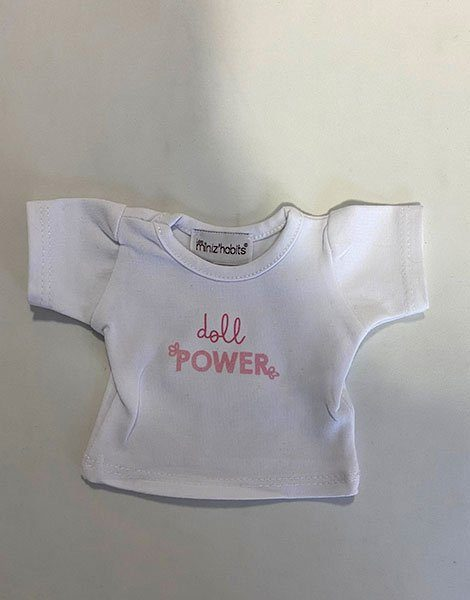 *T-shirt en coton Doll power