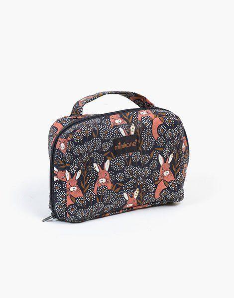 Valise en coton Cache-cache
