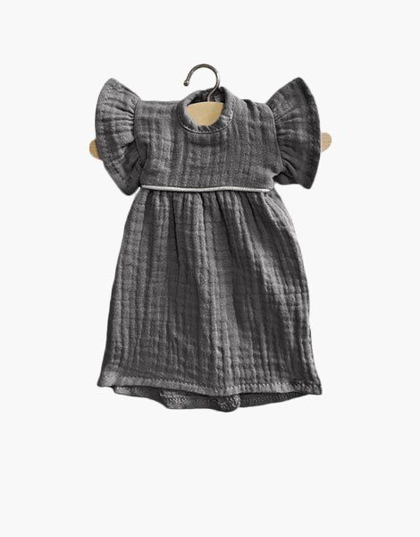 "Robe Amigas ""DAISY"" Gris anthracite"