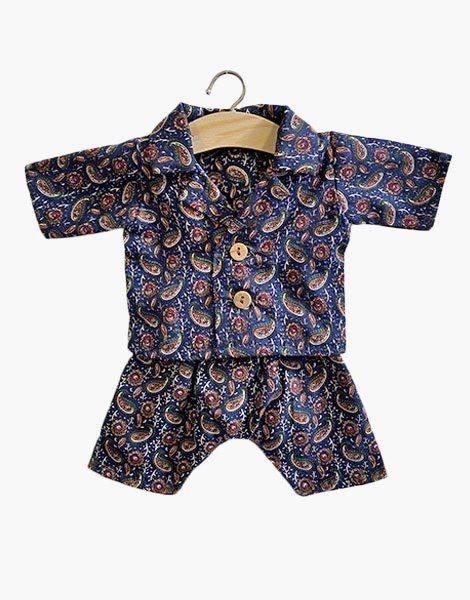 Pyjama Jacquard navy