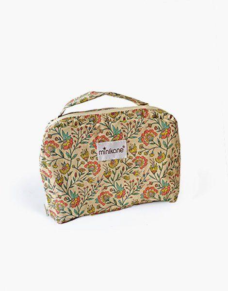 Valise en coton Fleurs en liane
