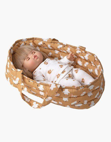 Couffin Gordis en coton Little chic et son oreiller