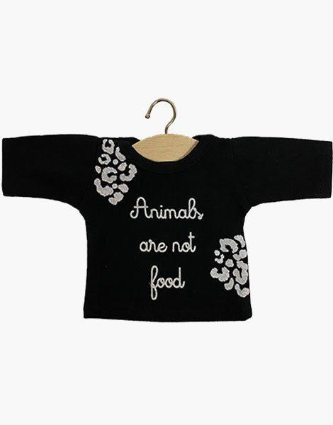 """T-shirt manches longues """"ANIMALS"""" Noir"""