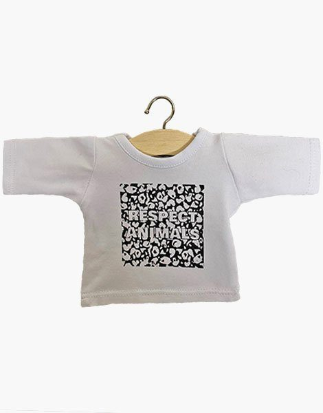 "T-shirt manches longues ""RESPECT"" Black & White"