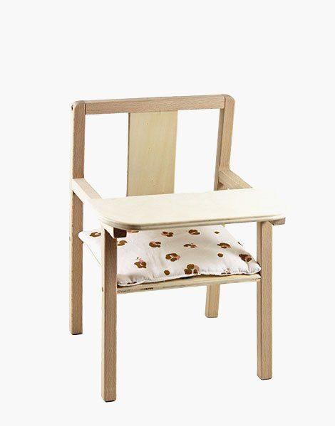 Coussin de chaise « Blaise » en coton Holly