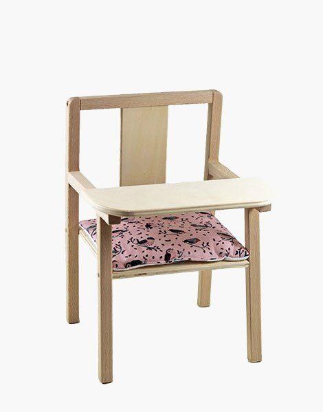 Coussin de chaise « Blaise » en coton Jojo
