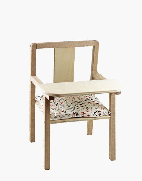 Coussin de chaise « Blaise » en coton Nina