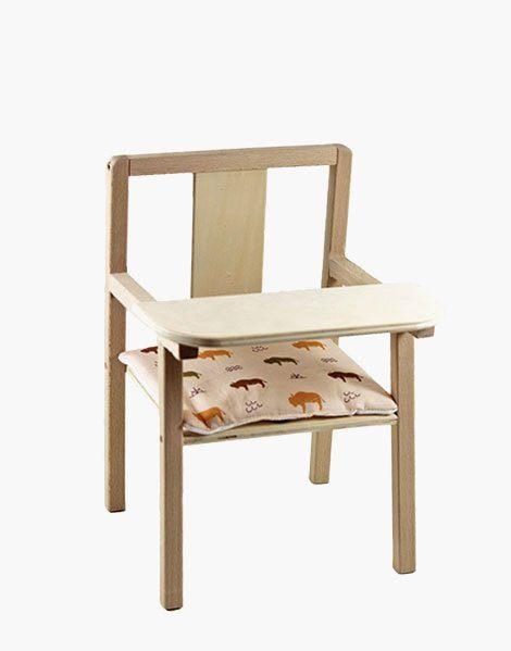 Coussin de chaise « Blaise » en coton Buffalo