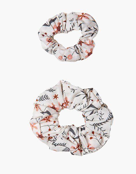 Collection Duo – Chouchou en coton Nina