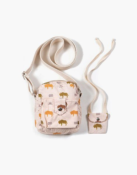 Collection Duo – Sac « LOLA » en coton Buffalo
