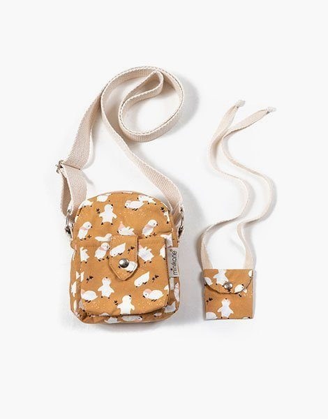 Collection Duo – Sac « LOLA » en coton Little chick