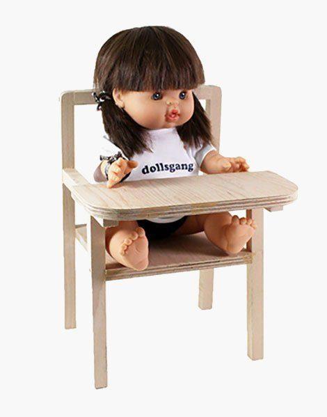 """Petite chaise haute en bois """"Blaise"""""""