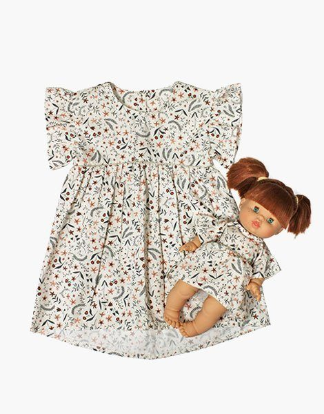 "Collection Duo – Robe ""DAISY"" en coton Nina"