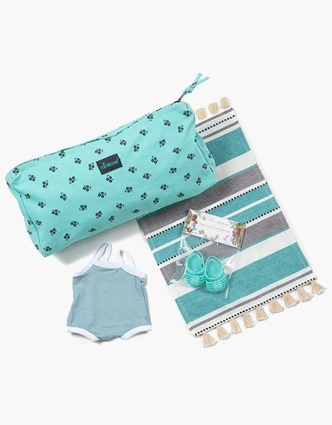 Kit de plage Capucine mint