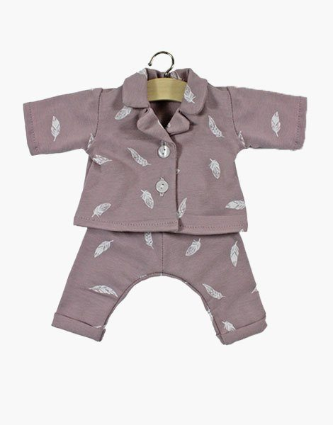 Pyjama en coton Lilas Plume