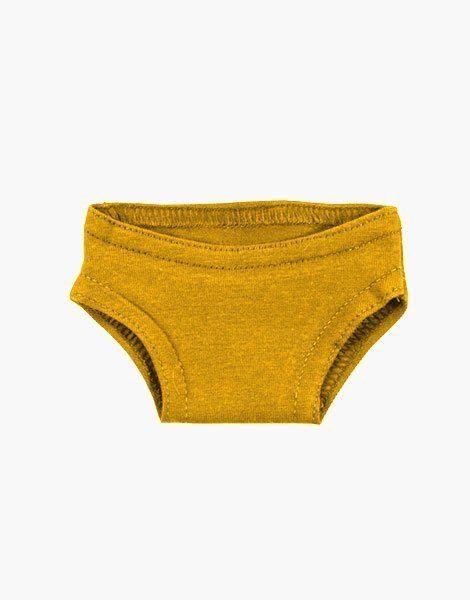 Culotte Gordis en coton Moutarde