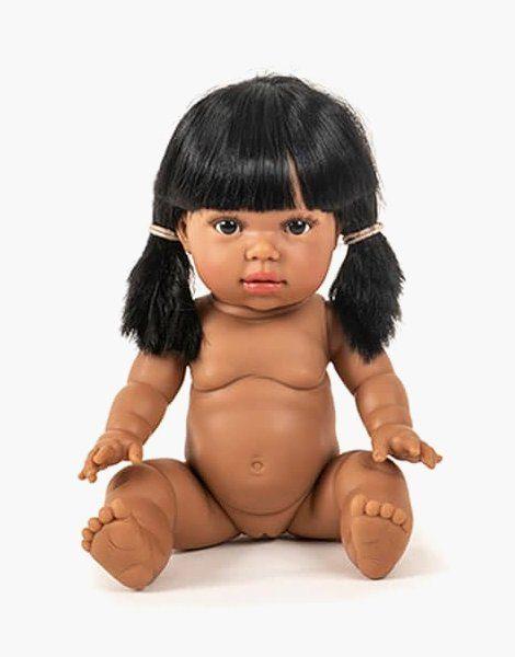 Latika, poupée exclusive Minikane brune aux yeux noirs